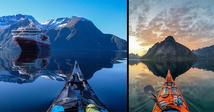kayak-norvege-zen