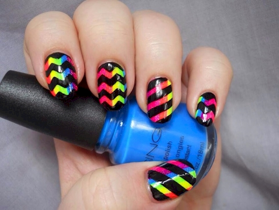 nail-art-chevron-11