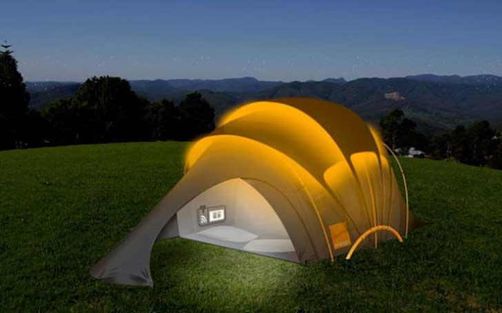 tente solaire 2