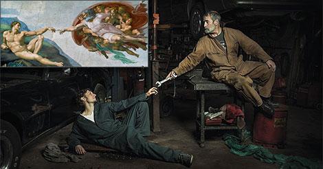 peintures mecaniciens